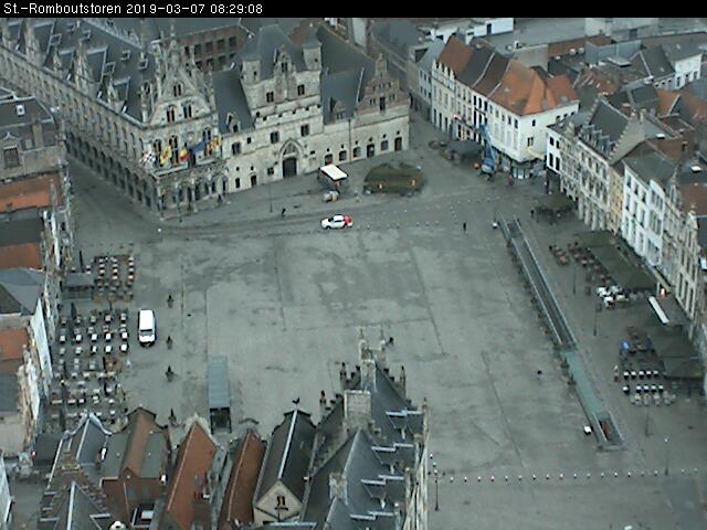 Webcam: Malines, Anversa, Belgio